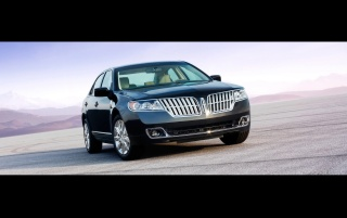 Lincoln MKZ front wallpapers and stock photos