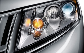 MKZ headlights wallpapers and stock photos
