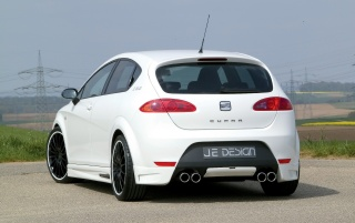 JE Cupra trasera wallpapers and stock photos