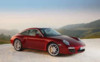911 Targa angle wallpapers and stock photos