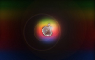 Multicolor Apple logo wallpapers and stock photos