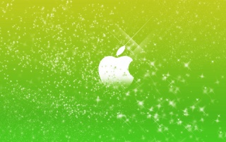 Random: Green Apple logo