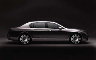 Random: Flying Spur shadow