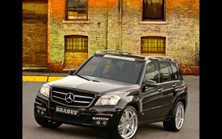GLK Brabus front wallpapers and stock photos