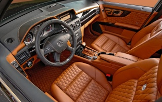 GLK Brabus interior wallpapers and stock photos