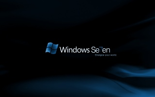 Random: Blue Windows 7