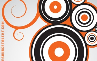 Random: OneSourceTalent Orange Circles