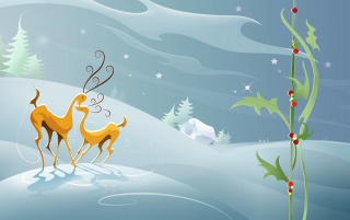 Reindeers love wallpapers and stock photos
