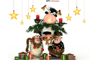 Sheep Xmas wallpapers and stock photos
