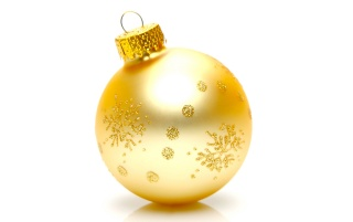 Xmas golden globe wallpapers and stock photos