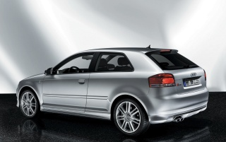 Audi S3 rear wallpapers and stock photos