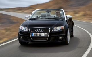Audi S4 front wallpapers and stock photos