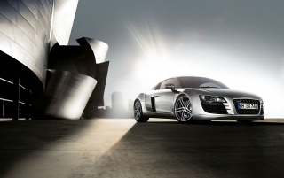 R8 in the light wallpapers and stock photos
