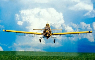 Crop spraying wallpapers and stock photos