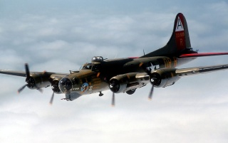 B 17 Flying Fortress wallpapers and stock photos