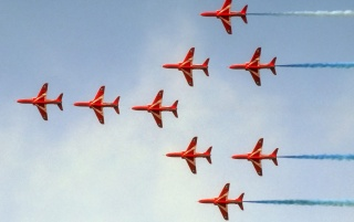 Red Arrows wallpapers and stock photos