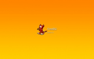 FreeBSD 6 orange wallpapers and stock photos