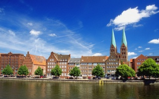 Lubeck scenery wallpapers and stock photos