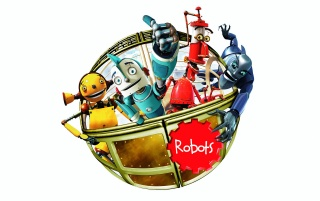 Robots characters wallpapers and stock photos