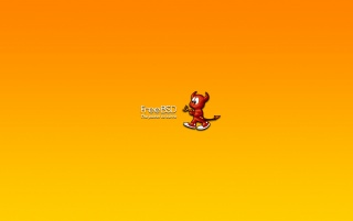 FreeBSD red deamon wallpapers and stock photos