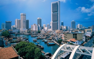 Singapore River wallpapers and stock photos