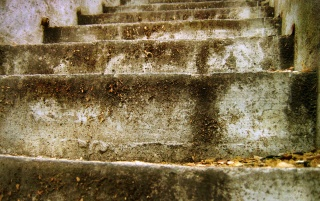 Old stairs wallpapers and stock photos