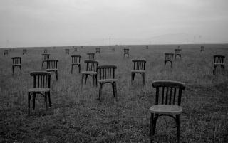 Random: Chairs in the field