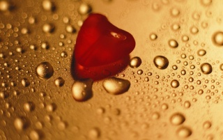 Red heart and drops wallpapers and stock photos