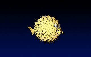 Yellow BSD fish wallpapers and stock photos