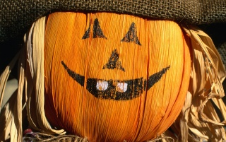 Smiling pumpkin wallpapers and stock photos