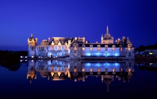 Chateau reflection wallpapers and stock photos