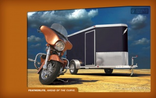 Featherlite Motorcycle Trailer wallpapers and stock photos