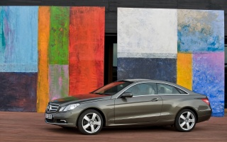E coupe and colors wallpapers and stock photos