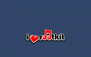 I heart rootkit blue wallpapers and stock photos