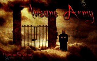 Insane Army Hells Gates wallpapers and stock photos