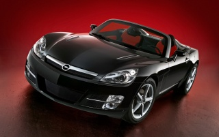 Negro Opel GT wallpapers and stock photos