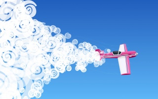 Pink plane illustration wallpapers and stock photos