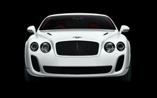 White Bentley vor wallpapers and stock photos