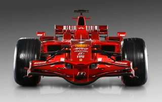 Ferrari F1 front wallpapers and stock photos