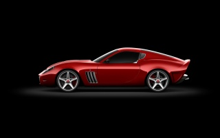 599 GTO side wallpapers and stock photos