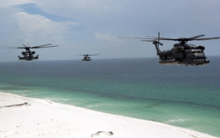 Choppers over beach wallpapers and stock photos