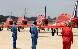 Red planes wallpapers and stock photos