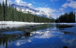 Bow River wallpapers and stock photos