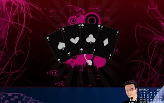 March CasinoMan Wallpaper wallpapers and stock photos