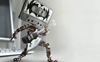 Tape music wallpapers and stock photos