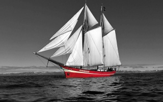 Red ship wallpapers and stock photos