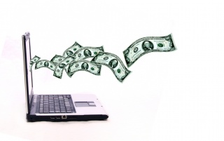 Laptop and money wallpapers and stock photos
