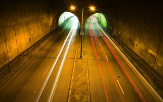 Twin tunnels wallpapers and stock photos