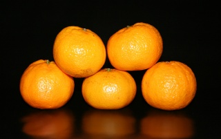 Five oranges wallpapers and stock photos