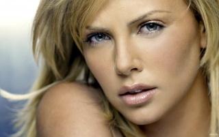 Portrait of Charlize wallpapers and stock photos
